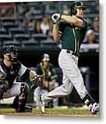 Brian Mccann and Brandon Moss Metal Print