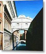 Bridge Of Sighs  Venice  Italy Metal Print