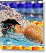 British Swimming Championships - Day One Metal Print
