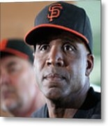 Bruce Bochy and Barry Bonds Metal Print