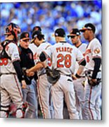 Buck Showalter Metal Print