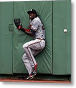Cameron Maybin and Mookie Betts Metal Print