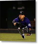 Carlos Gonzalez and Pete Kozma Metal Print