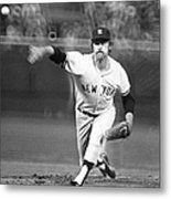 Catfish Hunter Metal Print