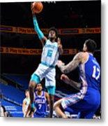 Charlotte Hornets v Philadelphia 76ers Metal Print