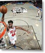 Chicago Bulls v Brooklyn Nets Metal Print
