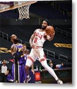 Chicago Bulls v LA Lakers Metal Print