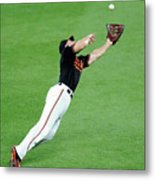Chris Davis and Carlos Beltran Metal Print