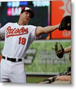 Chris Davis and Chris Carter Metal Print