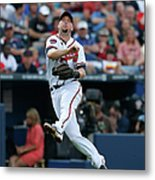 Chris Johnson and David Ross Metal Print