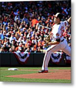 Chris Tillman Metal Print