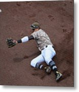 Christian Villanueva And Brandon Belt Metal Print