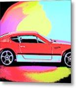 Color Runs Metal Print