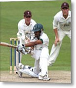 Cricket - Liverpool Victoria County Championship - Division Two - Day Three - Worcestershire v Surrey - New Road Metal Print