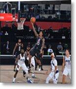 Dallas Mavericks v LA Clippers - Game One Metal Print