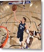 Dallas Mavericks v Los Angeles Lakers Metal Print