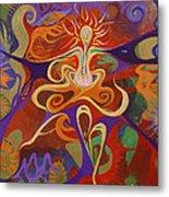 Dance Of Color Metal Print