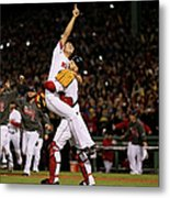 David Ross and Koji Uehara Metal Print