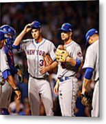 David Wright and Steven Matz Metal Print