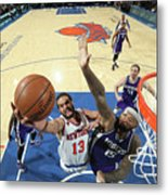 Demarcus Cousins and Joakim Noah Metal Print