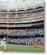 Derek Jeter and Curtis Granderson Metal Print