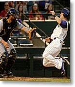 Derek Norris and Chris Owings Metal Print