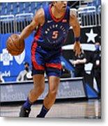 Detroit Pistons v Orlando Magic Metal Print