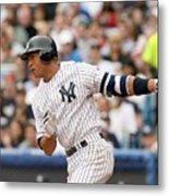 Detroit Tigers v New York Yankees Metal Print