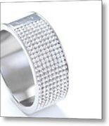 Diamond Bracelet Metal Print