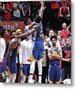 Draymond Green and Kyle Lowry Metal Print