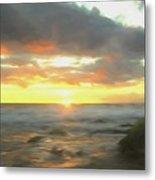 Dreamy Seascape Metal Print