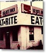 Eat Rite Metal Print