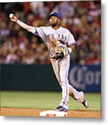 Elvis Andrus And Grant Green Metal Print