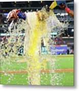 Elvis Andrus and Joey Gallo Metal Print