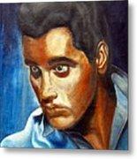 Elvis Presley - moody blue Metal Print