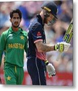 England v Pakistan - ICC Champions Trophy Metal Print