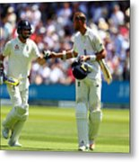 England v South Africa - 1st Investec Test: Day Two Metal Print