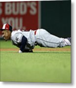 Francisco Lindor Metal Print