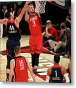 Frank Kaminsky and Domantas Sabonis Metal Print
