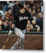 Garrett Jones and Jarrod Saltalamacchia Metal Print