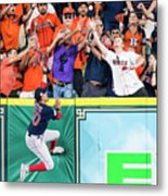 George Springer and Mookie Betts Metal Print