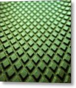 Green diamons forever Metal Print