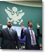 House Holds Hearing On International Anti-Doping System Metal Print