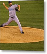Huston Street Metal Print