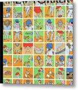 Inside Baseball Metal Print
