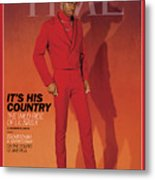It's His Country - Lil Nas X Metal Print