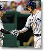 Jake Elmore and Steven Souza Metal Print