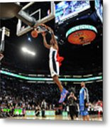 Jameer Nelson and Dwight Howard Metal Print