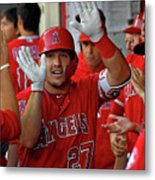 James Shields And Mike Trout Metal Print