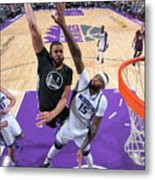 Javale Mcgee and Demarcus Cousins Metal Print